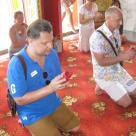 ритуал предсказания,монастырь Ват Чалонг, Пхукет