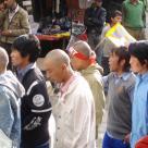 тибетская демонстрация в защиту прав